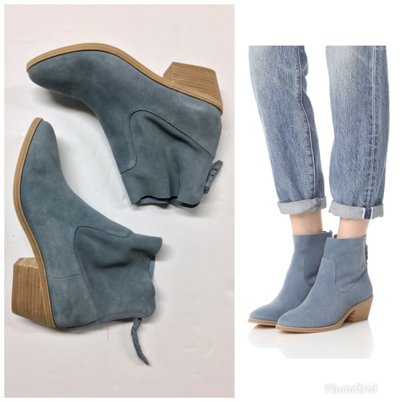6b8d274f5ef JOIE Adria Skylark Suede Ankle Boots